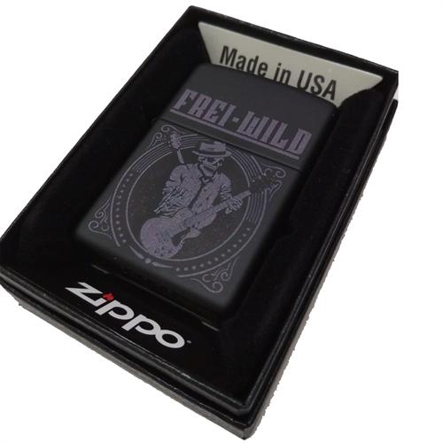 Frei.Wild - Akustik Skull, Zippo