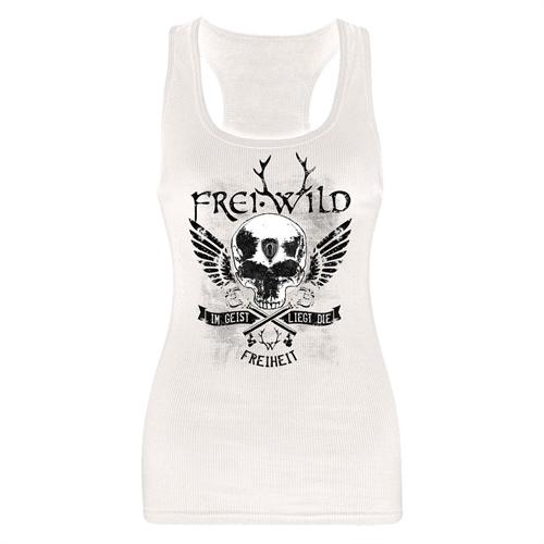 Frei.Wild - Im Geist liegt die Freiheit, Tank-Top (weiß)
