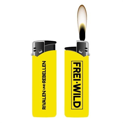 Frei.Wild - R&R, Feuerzeug (gelb)