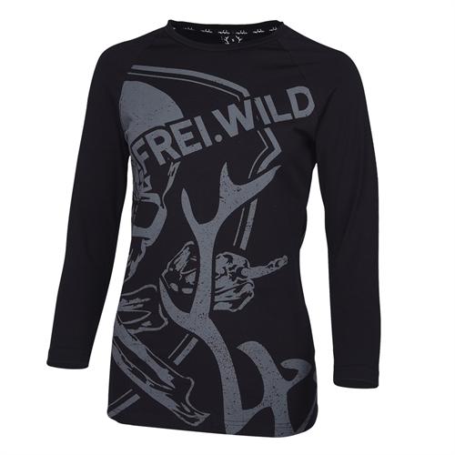 R/&R Skull Kapu Girl Frei.Wild