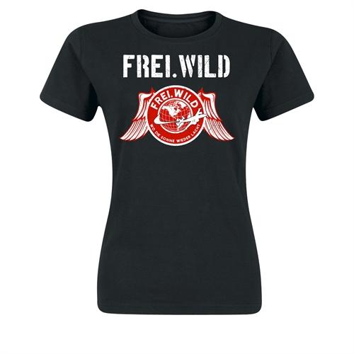 Frei.Wild - WDSWL Retro, Girl-Shirt