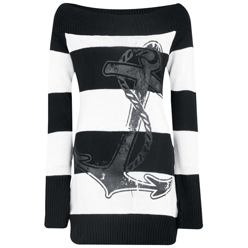 Vixxsin - Anchor Top, Girl-Long-Sweater