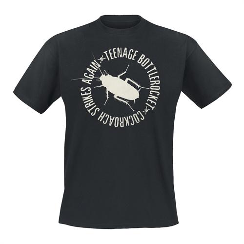 Teenage Bottlerocket - Cockroach/Logo, T-Shirt