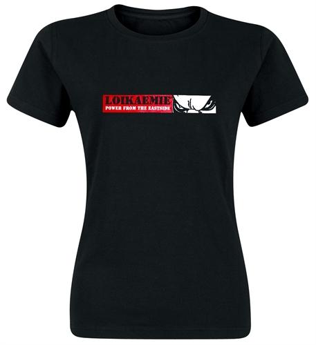 Loikaemie - Power From The Eastside, Girl-Shirt