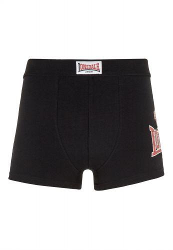 Lonsdale - Leeds, Boxershorts 2er Pack