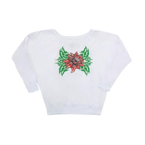 Tribe Rose - Off Shoulder Girl-Shirt