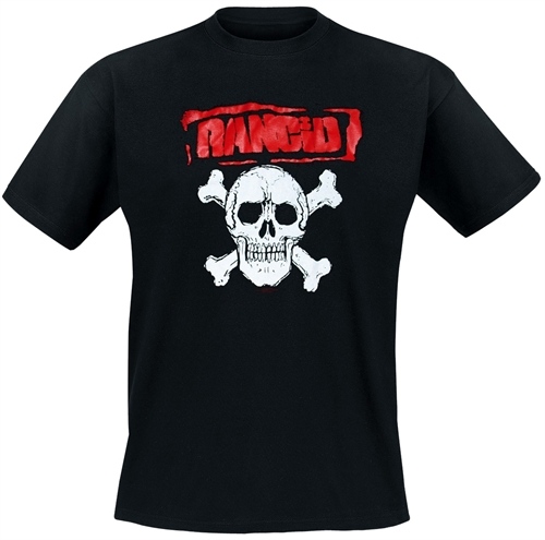 Rancid - Skull, T-Shirt