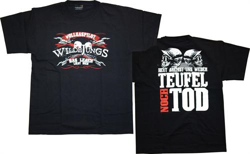 Wilde Jungs - Vollgaspilot, T-Shirt