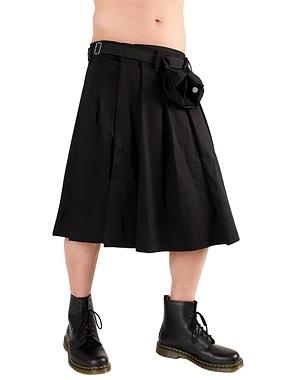 Black Pistol - Short Kilt Denim