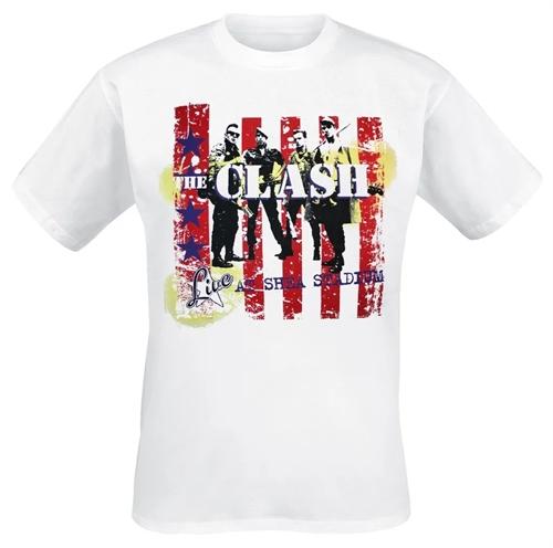 Clash - Live At Shea Stadium, T-Shirt