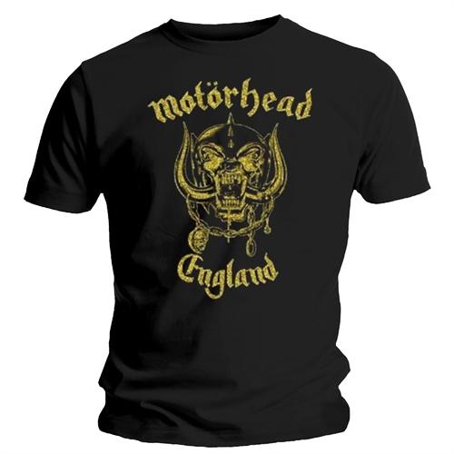 Motörhead - England Classic Gold, T-Shirt