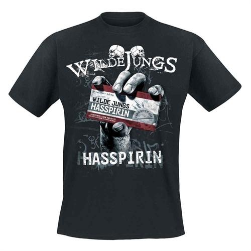 Wilde Jungs - Hasspirin, T-Shirt