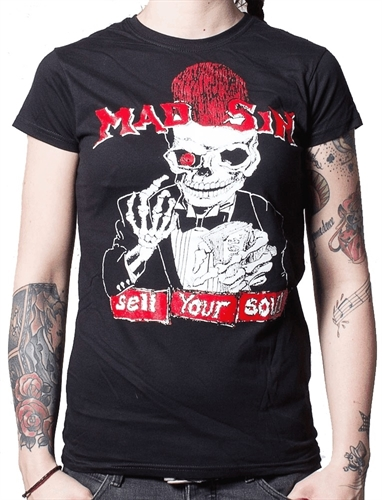 Mad Sin - Sell Your Soul, Girl-Shirt