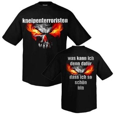 Kneipenterroristen - Was kann ich denn dafür, T-Shirt