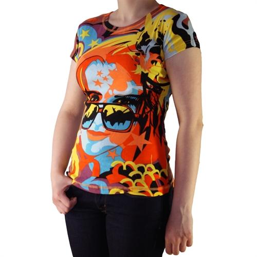 Hayes - All-Overprint, Frauenshirt