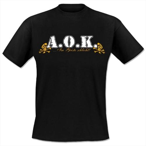 A.O.K. - Gehasst, verarscht, verblödet, T-Shirt