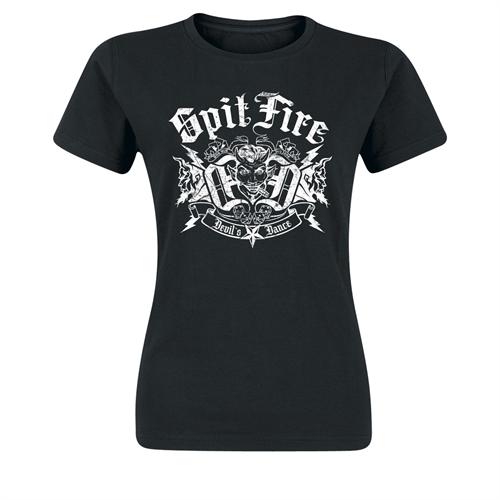 SpitFire - Devil`s Dance, Girl-Shirt