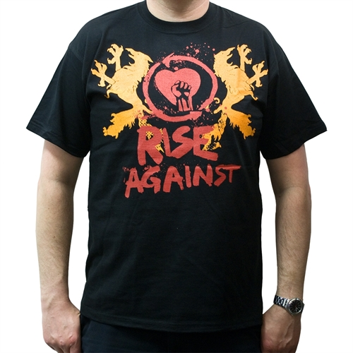 Rise Against - Fist Crest, T-Shirt