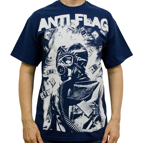Anti Flag - Gasmask, T-Shirt