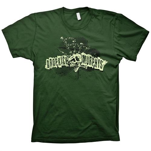 Dropkick Murphys - Mohawk Skull, T-Shirt