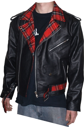 Ramones-Style - Jacke Tartan