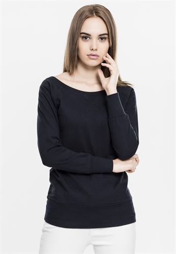 Urban Classics - Girl-Boatneck-Sweater