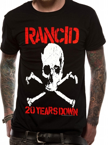 Rancid - 20 Years Down, T-Shirt