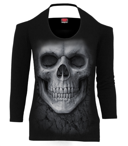 Spiral - Solemn Skull, Girl-Sweater
