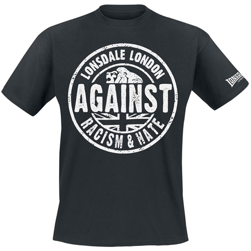 Lonsdale - Against Racism, T-Shirt