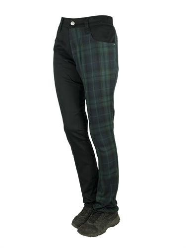No Brands Required - One leg Tartan, Frauenhose