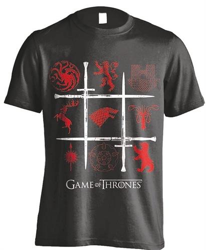 Game of Thrones - Sigils Swords, T-Shirt