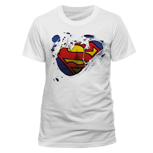 DC Comics - Torn Logo, T-Shirt