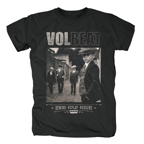 Volbeat - Rewind Replay Rebound Cover, T-Shirt