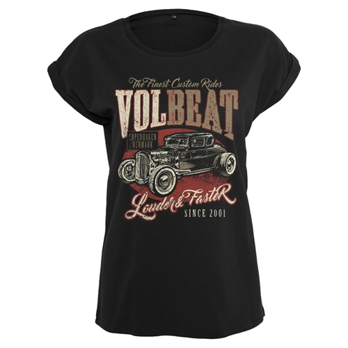 Volbeat - Louder & Faster, Girl-Shirt