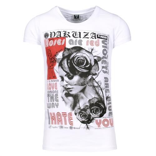 Yakuza - Roses are red, Girl-Shirt
