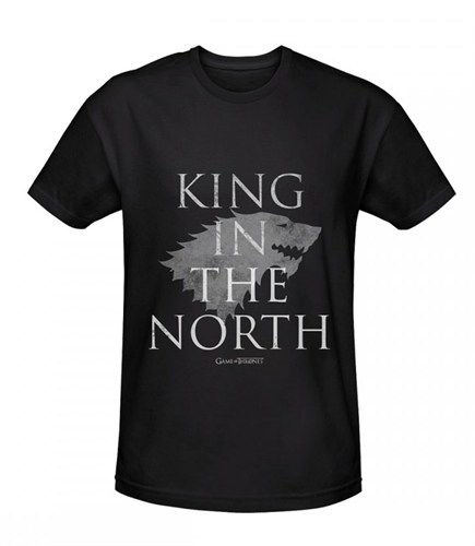 Game of Thrones - King in the North, T-Shirt