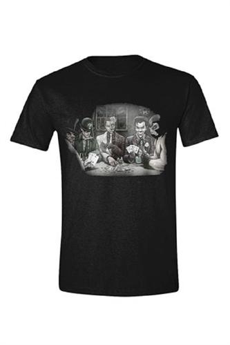 Batman - Villians Poker, T-Shirt
