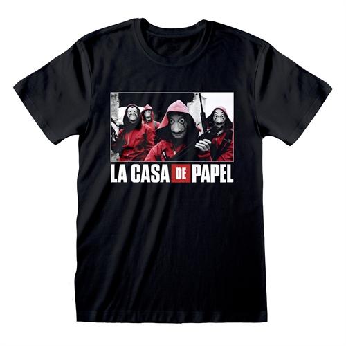 Haus des Geldes - Photo And Logo, T-Shirt