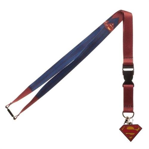 DC Comics - Superman Suit, Schlüsselband+Anhänger