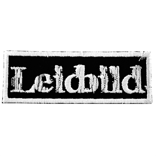 Leidbild - Logo, Aufnäher