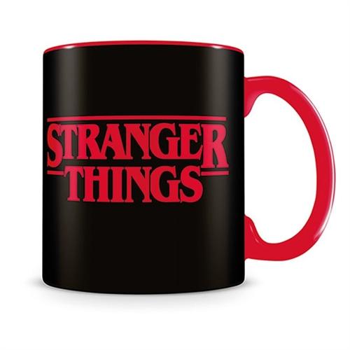 Stranger Things Logo -  Tasse
