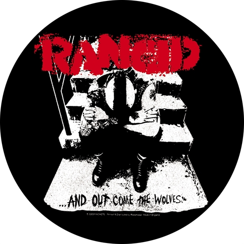 Rancid - And Out Come The Wolfes, Button