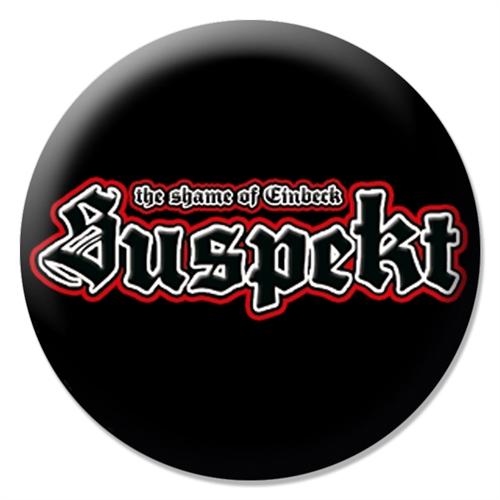 Suspekt  - Logo, Button