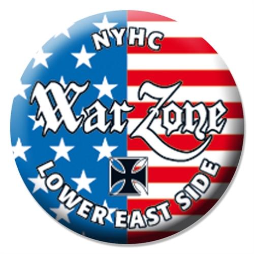 Warzone - Lower Eastside Crew, Button