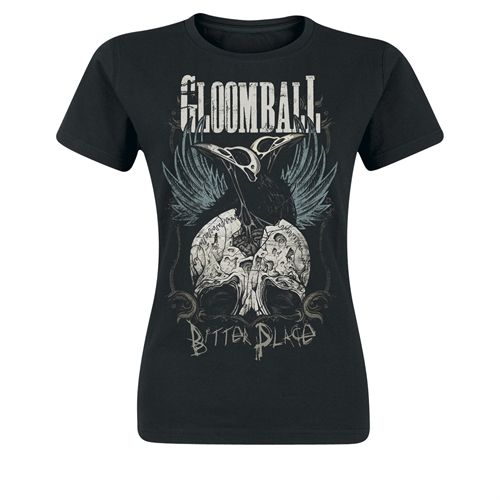 Gloomball - Bitter Place, Girl-Shirt