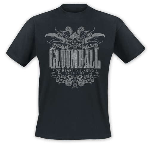 Gloomball - My Heart is burning, T-Shirt