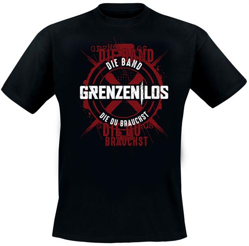 Grenzen|Los - Die Band die du brauchst, T-Shirt