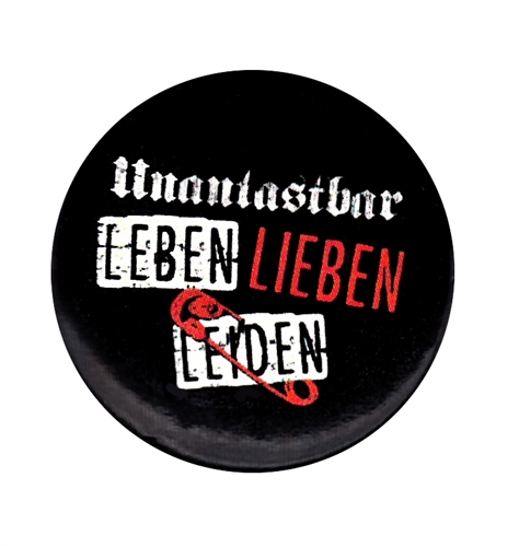 Unantastbar - LLL, Button