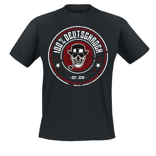 100% Deutschrock - Niemals wie Ihr, T-Shirt