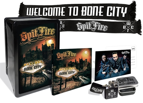 Spit Fire - Welcome to Bone City, Boxset